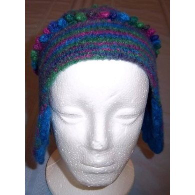 Felted Thrum-fun Hat