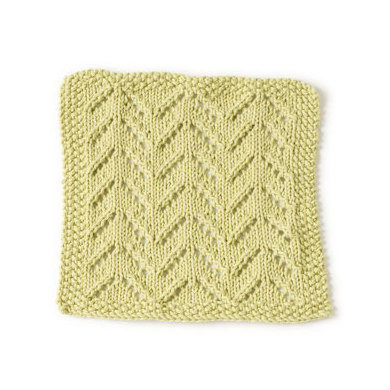 Rocky Point Beach Washcloth in Lion Brand Cotton-Ease - 90389