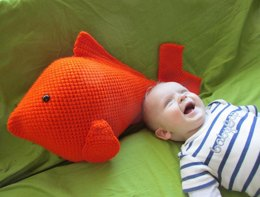 Goldfish Pillow or Large Toy