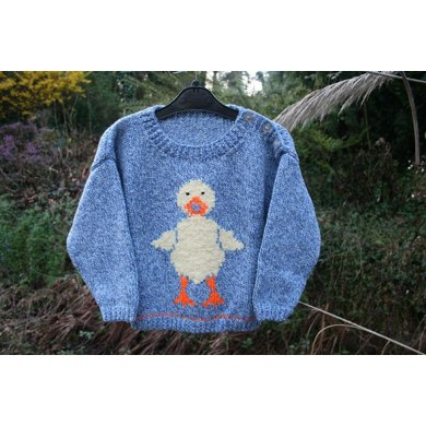 Daphne Duck Sweater for Children