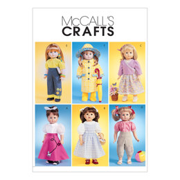 McCall's 18 Doll Clothes M4066 - Sewing Pattern
