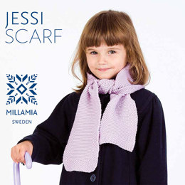 Jessi Scarf in MillaMia Naturally Soft Merino
