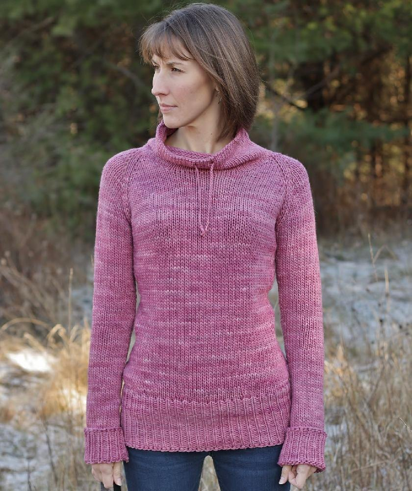 Eased Bulky Version Knitting Pattern By Alicia Plummer