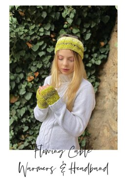 Flowing Cable Warmers & Headband