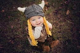 Viking Hat Baby Child Adult