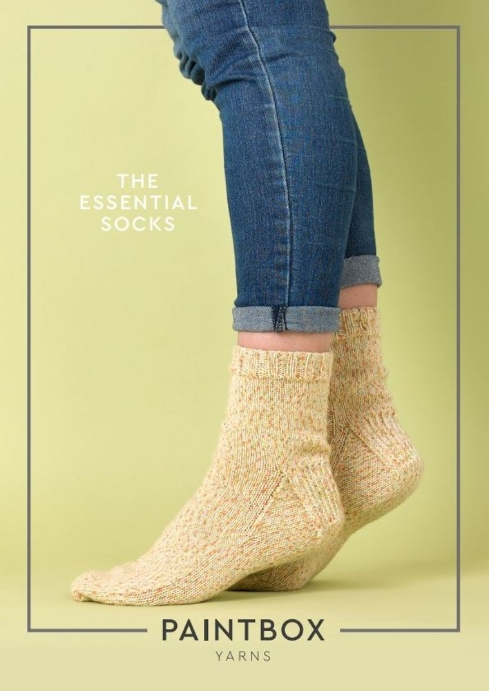 The Essential Socks In Paintbox Yarns Socks Downloadable Pdf