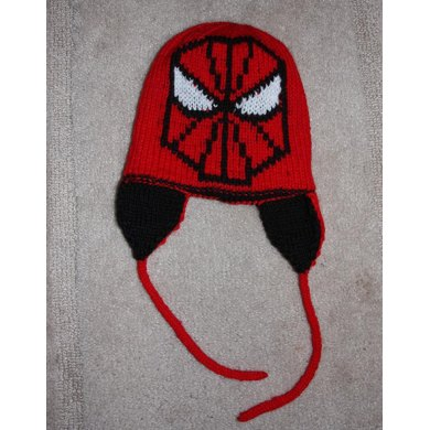 Double Knit Spider Hat