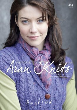 Aran Knits by Hayfield