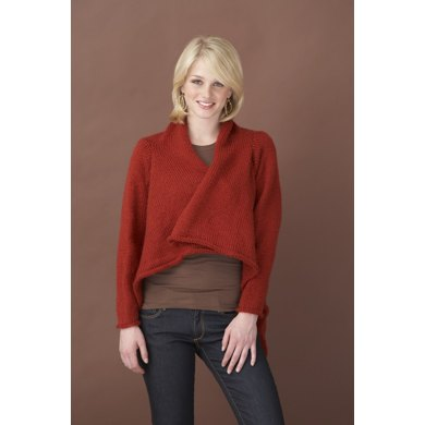 Jacket Deconstructed in Lion Brand Vanna's Choice - 60648A
