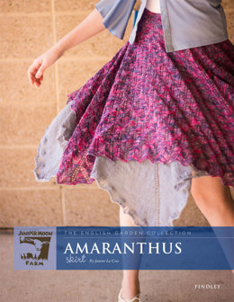 Amaranthus Skirt in Juniper Moon Farm Findley and Findley Dappled - Downloadable PDF