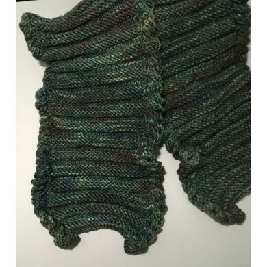 Reversible Textured Scarf