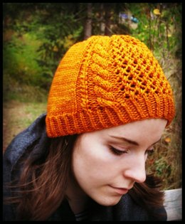 Autumn Sunset - A Beanie