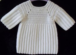 Baby Ribbed Jumper Dress & Pinafore
