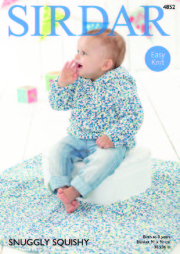 Sweater and Blanket in Sirdar Snuggly Squishy - 4852
