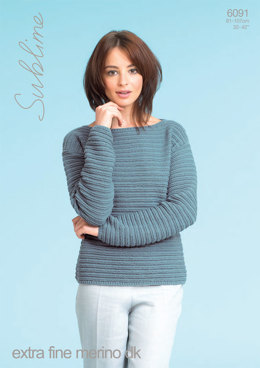 Sweaters in Sublime Extra Fine Merino DK - 6091