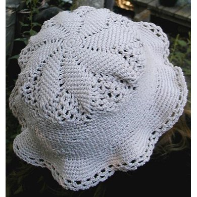 Cotton Thread Sun Hat