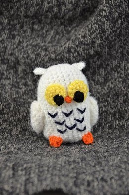 Henry the Snowy Owl Crochet Pattern