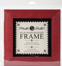 Mill Hill GBFRM9 - Holiday Red Frame
