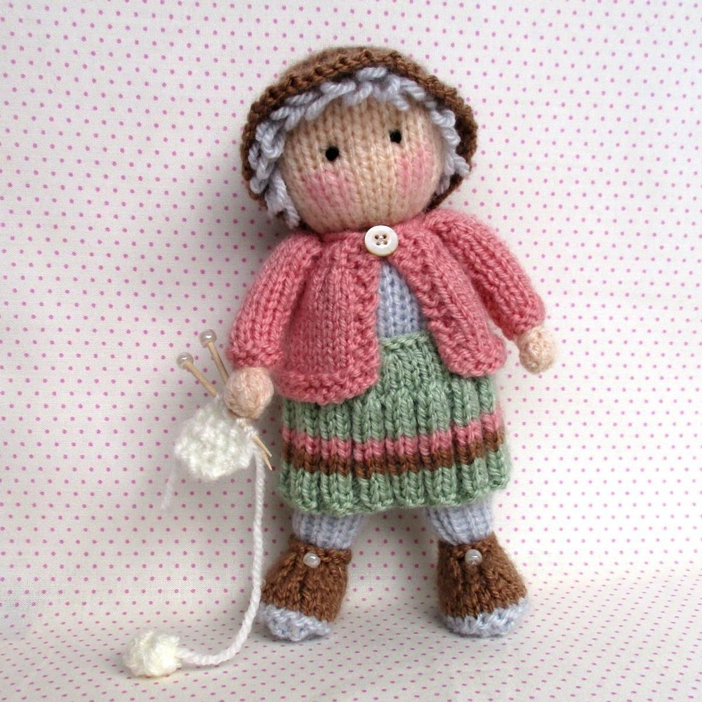 Sylvester Granny Knitting : Granny pearl loves knitting pattern by dollytime