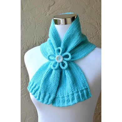 Paragon Scarf Keyhole Ascot Pull Through Vintage Stay On
