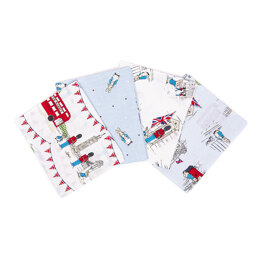 Craft Cotton Company Peter Rabbit London Fat Quarter Bundle - Multi