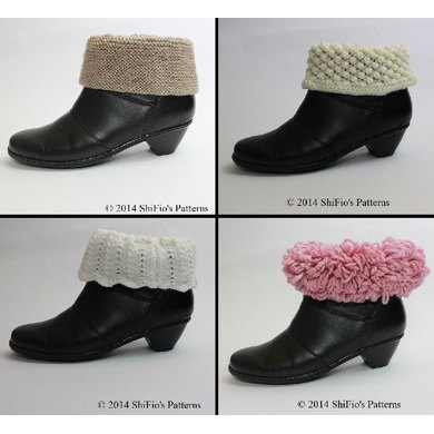 205 Ladies Boot Toppers Knitting Pattern 205 Knitting Pattern By