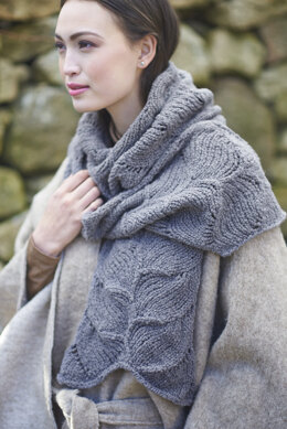 Isadora Scarf in Berroco Nomad - Downloadable PDF