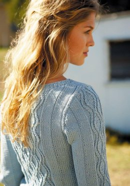 Hourglass Cable Sweater