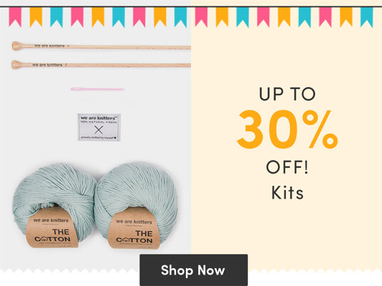Up to 30 percent off kits