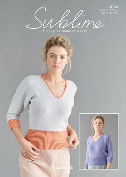Woman's Tops in Sublime Isabella - 6130 - Downloadable PDF