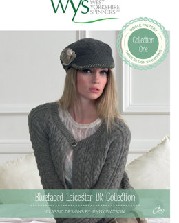 Cardigans and Hat in West Yorkshire Spinners Bluefaced Leicester Naturals DK - Downloadable PDF