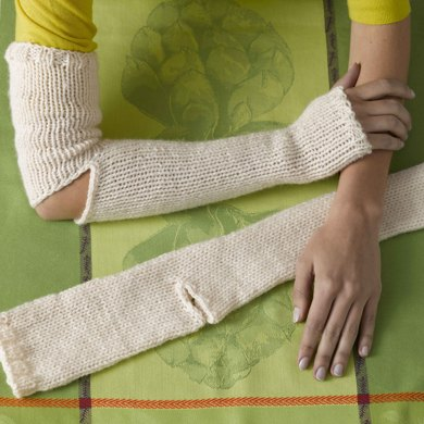 Snow Day Gauntlets in Lion Brand Wool-Ease Thick & Quick - 90678AD