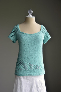 Swoop Tee in Universal Yarn Bamboo Glam