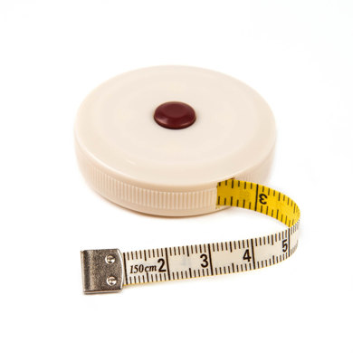 Hemline Spring-loaded Tape Measure