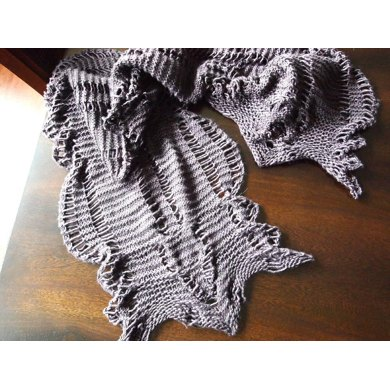Cascading Cable Scarf