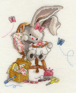 Bothy Threads Sewn With Love - Bebunni Cross Stitch Kit
