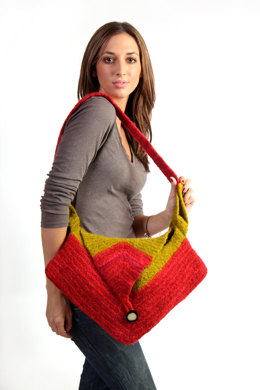 Soho Felted Bag in Malabrigo Worsted