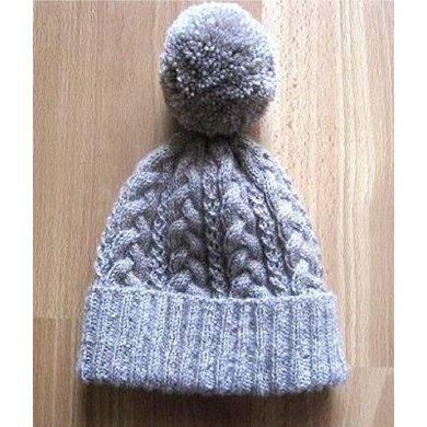 Super Cosy Cabled Beanie Knitting Pattern By Suzie