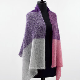 Cold Spring Shawl in Valley Yarns Southampton - 790 - Downloadable PDF