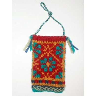Latvian Style Gift Card Pouch Ornament