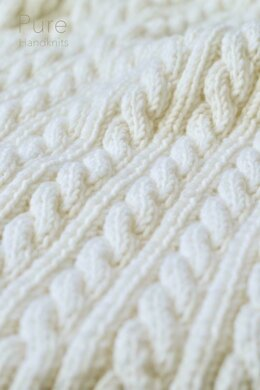 Eve Cabled Blanket