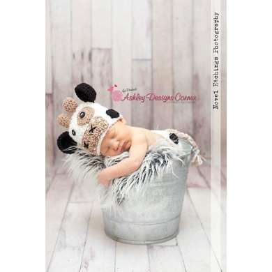 Cow Baby Tushy Cover Set