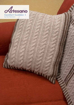 Comfort Cushion 1 in Artesano Aran