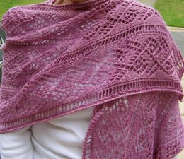 Ladder and Lace Light Wrap