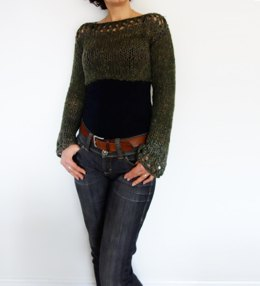 Woodland Cropped Sweater