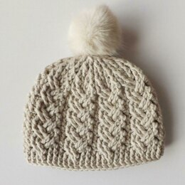 Holden Cable Crochet Hat