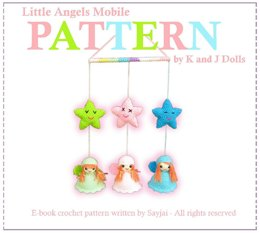 Little Angels Mobile - Amigurumi