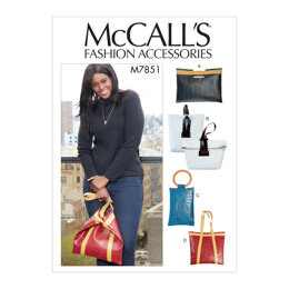 McCall's Bags M7851 - Sewing Pattern