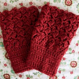 Blooming Roses Boot Cuffs