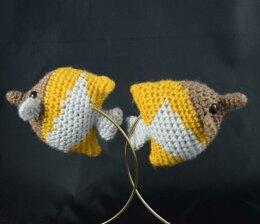 Butterflyfish Amigurumi/Plush Toy